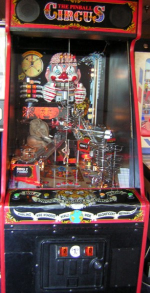 The Pinball Circus, with a vertical dimension