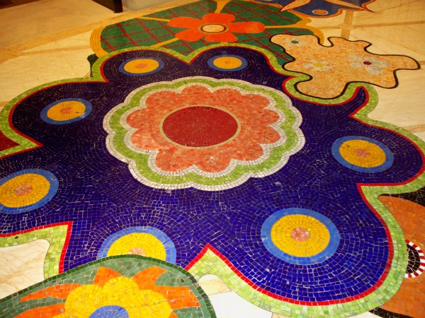 A tale of two casinos living las vegas among the lovely details at the wynn las vegas the mosaic tile floors tyukafo