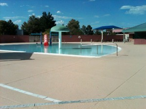 The pool at Cambridge Recreation Center