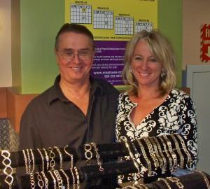 Paul Miller and Elizabeth Lowery. <br><em>Photo by Diane Taylor</em>
