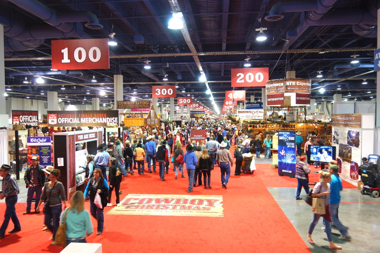 Though crowd numbers are not yet finalized, some 200,000 people were expected to attend the 2015 Cowboy Christmas Gift Show.