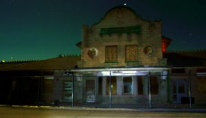 The train depot building, taken immediately after the video.Photo by Osie Turner