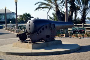 This cannon intrigued me. Why is it there?Photo by Osie Turner