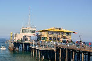 Santa Monica Pier.Photo by Osie Turner