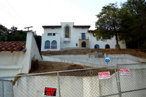 The Los Feliz Murder Mansion as seen from the street.Photo by Osie Turner