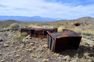 Some rusting equipment