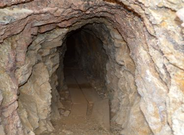 This is the opening to a random mine I found in the ghost town of Vanderbilt. There was nothing off about it, yet I had a bad feeling not to enter it any further. So I didn't. There's a reason old miners tend to be a superstitious lot. If it doesn't feel right, just get out. Photo by Osie Turner