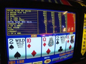 Deuces Wild Bonus Poker has more big jackpots than regular Deuces Wild