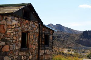 The Fluorspar Cabin.Photo by Osie Turner
