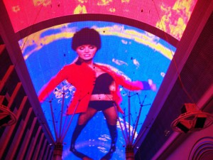 The Fremont Street Experience changes frequently.