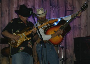 Dueling country guitars