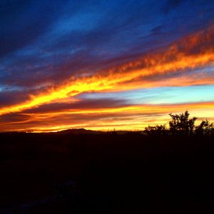 One of the aforementioned sunsets, taken last week.Photo by Osie Turner
