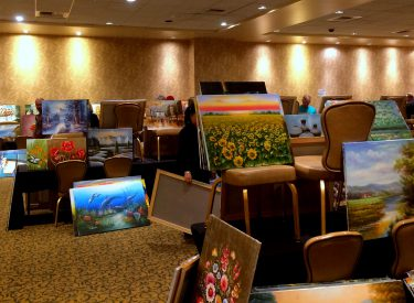 The Starving Artist Art Sale at the Sunset Station Casino.Photo by Osie Turner