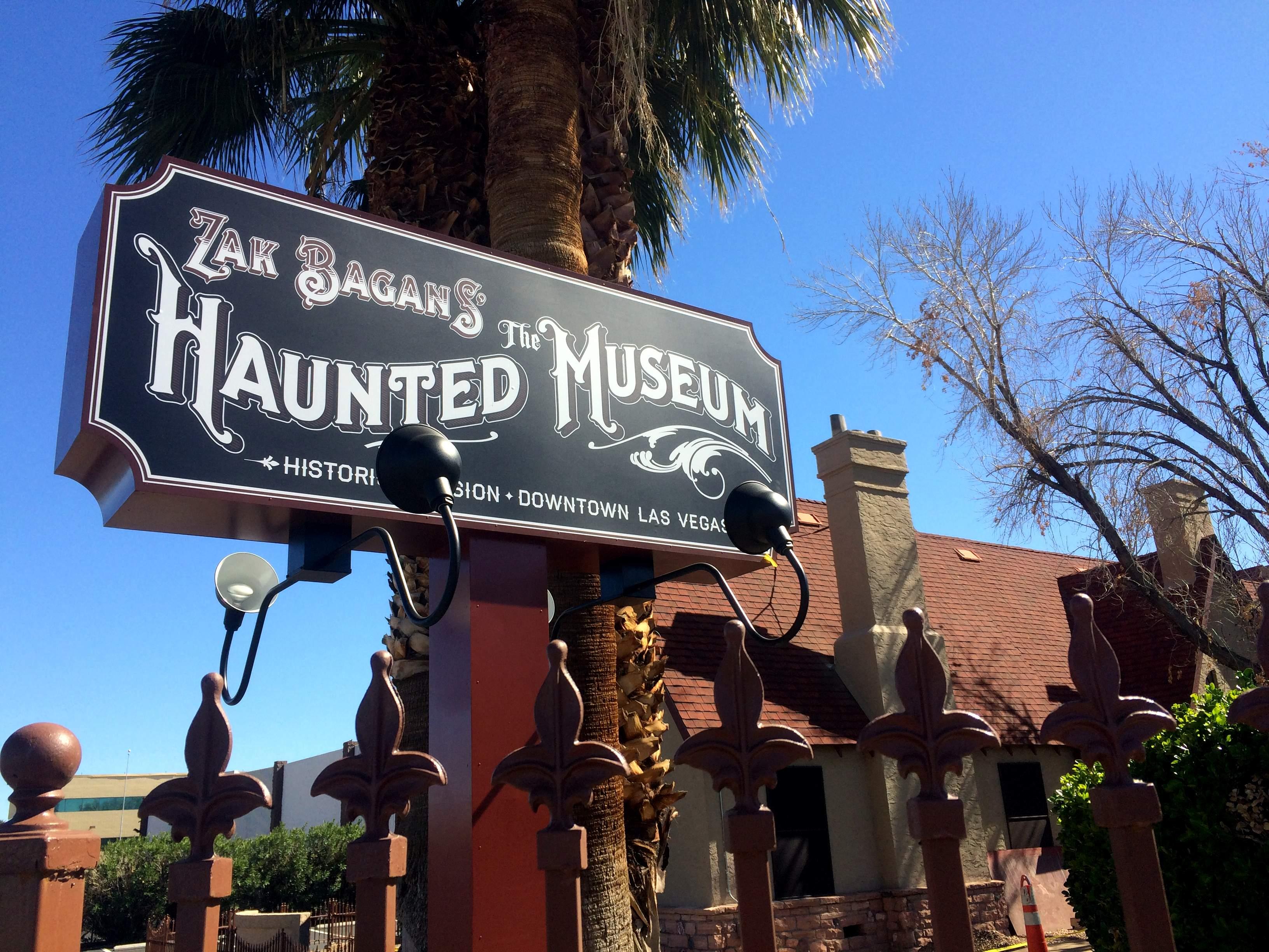 zak bagans haunted museum— ing soon living las vegas