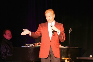 Flashy comedian Jeff Hobson was a hit at Funny Bones charity event