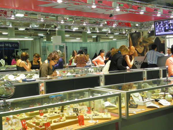 Jewelry from throughout the world was on display at JCK Las Vegas.