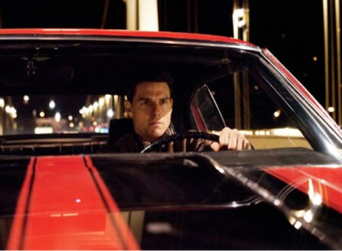Jack Reacher (Tom Cruise) sets out on what turns into a wild car chase.Photo: Karen Ballard, Paramount Pictures Corp.