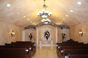 The La Capella Chapel at Chapel of the Flowers.