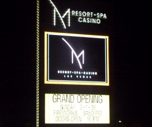 Opening night marquee