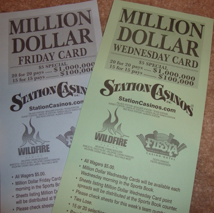 how to play parlay cards in las vegas