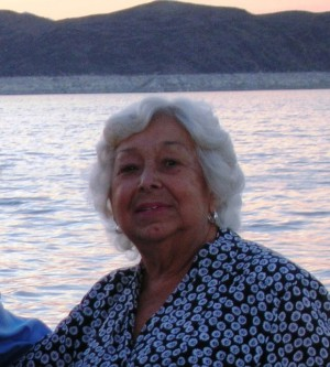 My Mother on a Lake Mead Cruise