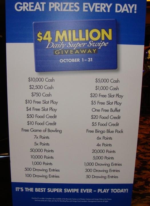 Casino Beat: Super Swipe is back! - Living Las Vegas