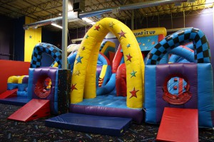 Obstacle course, anyone?