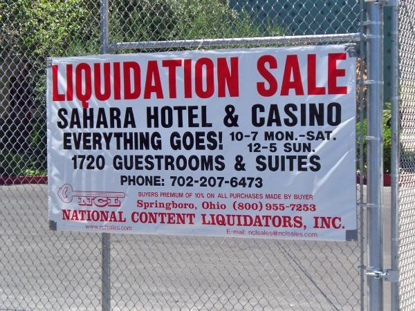 Sahara S Everything Goes Garage Sale Living Las Vegas