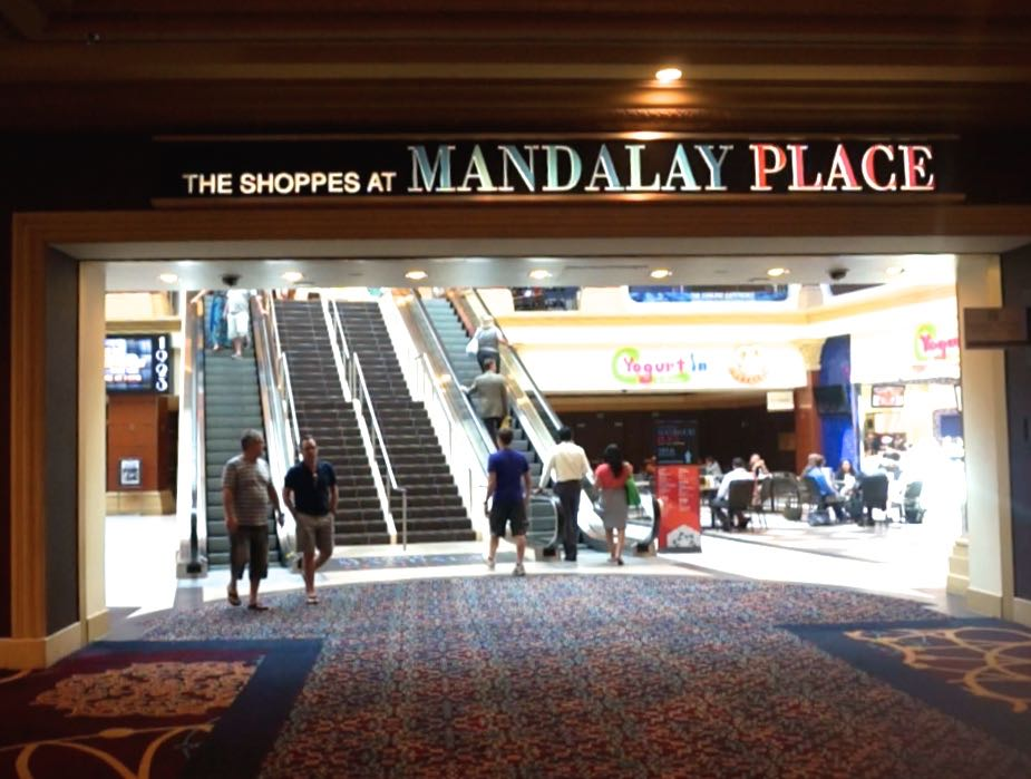 The Pes At Mandalay Place Are Up Escalator If One Is Coming From Bay