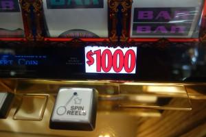 Some gamblers at The Wynn Las Vegas