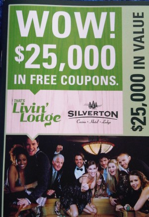"The ""Livin' Lodge"" promotion at Silverton Casino offers good deals for gamblers and non-gamblers alike."