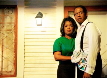 The life of Cecil (Forest Whitaker) and Gloria (Oprah Winfrey) Gaines centers on his 34 years of working as a butler in the White House.Photo by Anne Marie Fox – © 2013 Butler Films