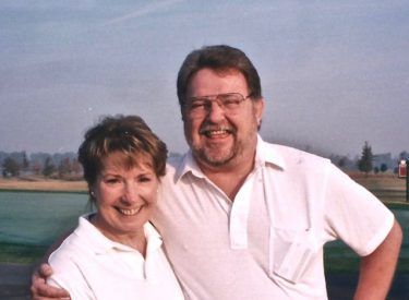 Diane Harman and her husband Tom were with my husband and me on a trip to Florida several years ago.  Throughout her illness, Diane never lost that smile.  Photo by Diane Taylor