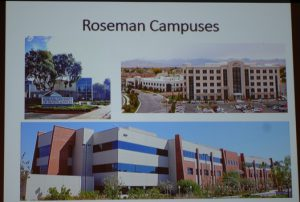 Roseman University of Health Sciences has three campus locations, two in Nevada and one in Utah.  Photo courtesy of Roseman University