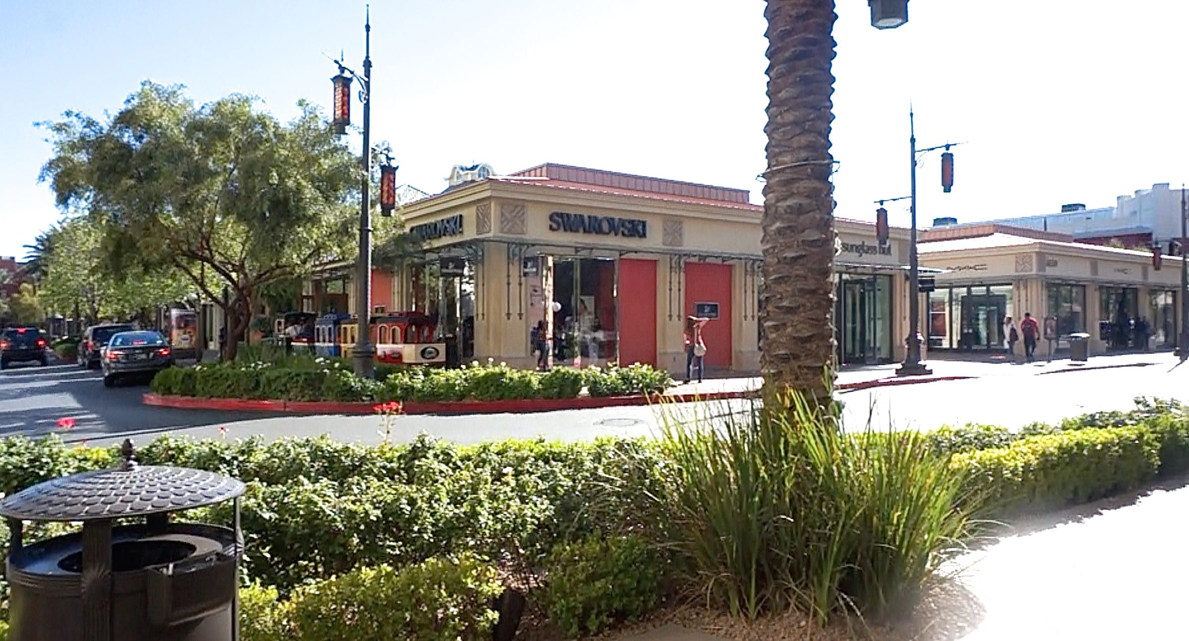 Town Square Is An Outdoor Shopping/dining/entertainment Complex With  Meticulous Landscaping. Photo