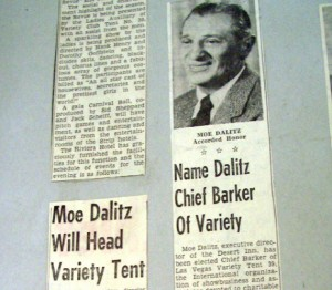 Moe Dalitz named 'Chief Barker' of Variety Club Tent 39