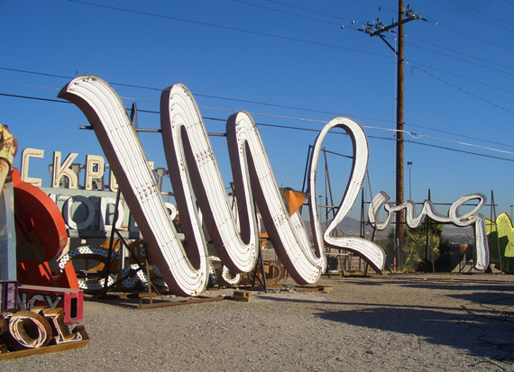 The Neon Museum Gets A Helping Hand Living Las Vegas