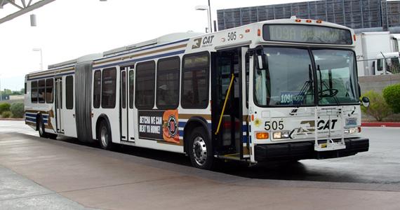 Caterpillar bus