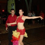 Cha-cha-cha!  The salsa dancers were wonderfully entertaining!