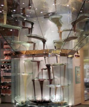 Cascading Chocolate Fountain