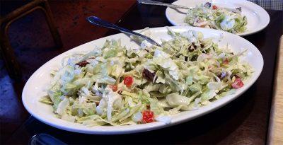 Balboa Pizza house salad