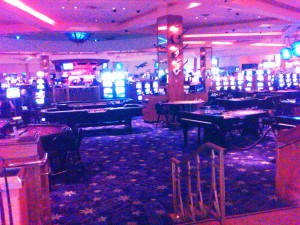 The casino at the Hard Rock Hotel in Las Vegas