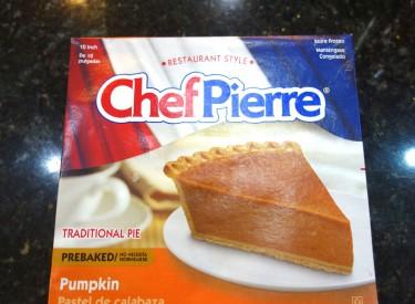 Last year's pie