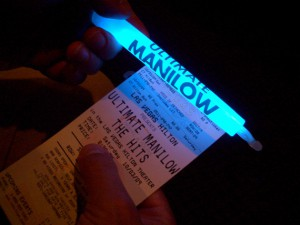 The glow stick is still glowing slightly even now -- and so am I<br><em>Photo by Megan Edwards</em>