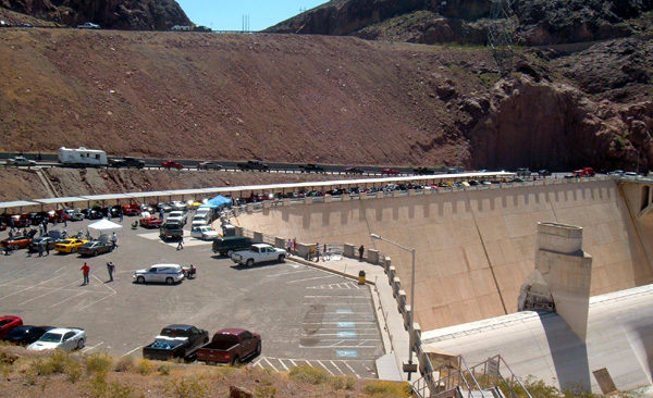 Mustangs at Hoover Dam