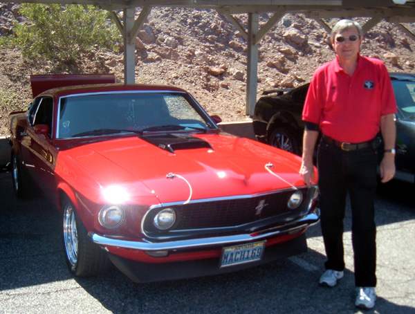 Jeff Doak & his 1969 Mustang Mach 1