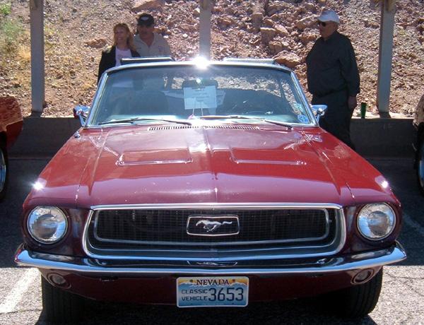 Larry Garreffa's 1968 Mustang convertible