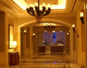 Vegas Unexpected The Roman Baths at Caesars Living Las