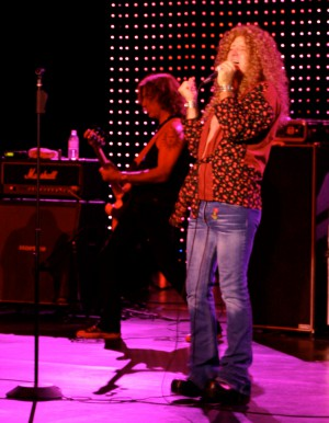 so and so at Led Zeplin's Robert Plant.