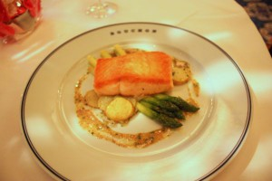 Exquistive, light and delicious salmon